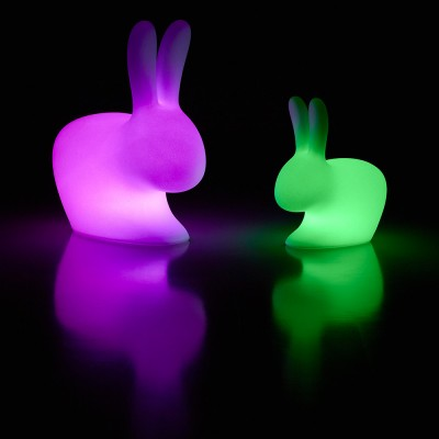 Qeeboo Rabbit Chair Baby Lamp Outdoor LED