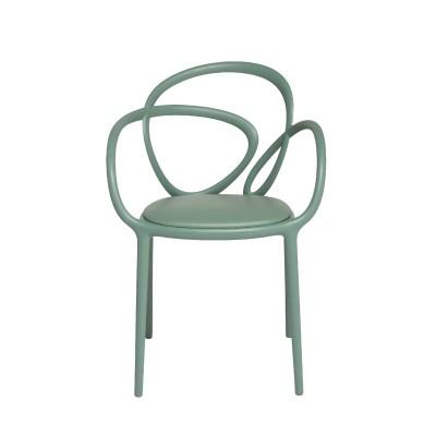 Qeeboo Loop Chair met kussen, set van 2 stuks